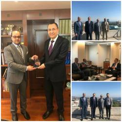 استقبال سعادة / عبدالحكيم علي خماج عضو مجلس إدارة البنك العربي التركي